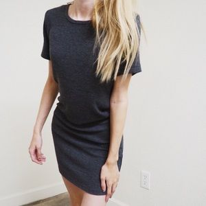 Brandi Melville ribbed t-shirt dress